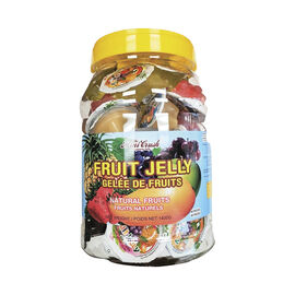 Mini Crush Fruit Jelly - 1400g