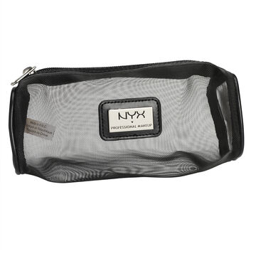 NYX Mesh Zipper Makeup Bag - Black