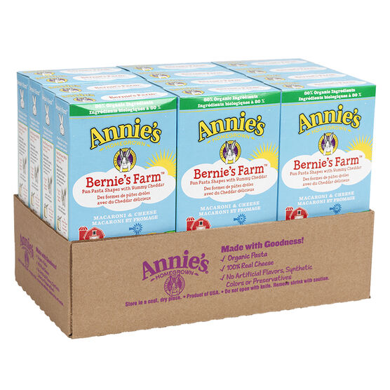 Annie's - Bernie's Farm Macaroni & Cheese - 12 x 170g