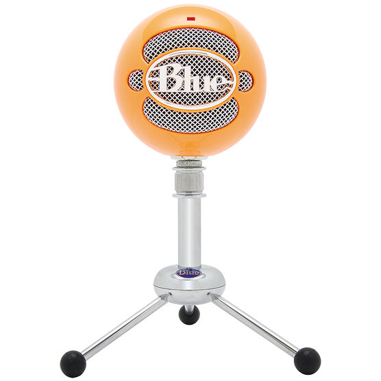 Blue Microphones Snowball USB Microphone - Neon Orange - 3039