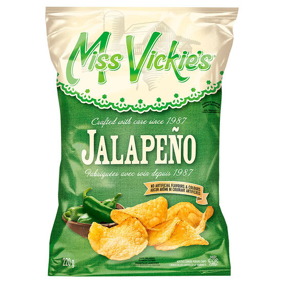 Miss Vickies Potato Chips - Jalapeño - 220g