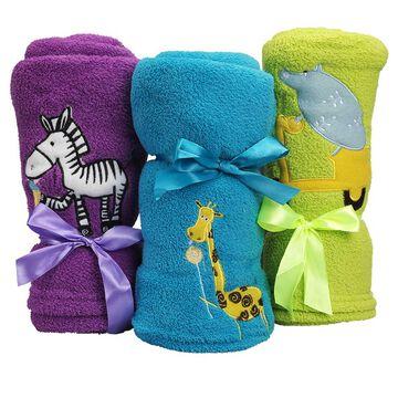 Honey Bunny Coral Baby Blanket - Assorted