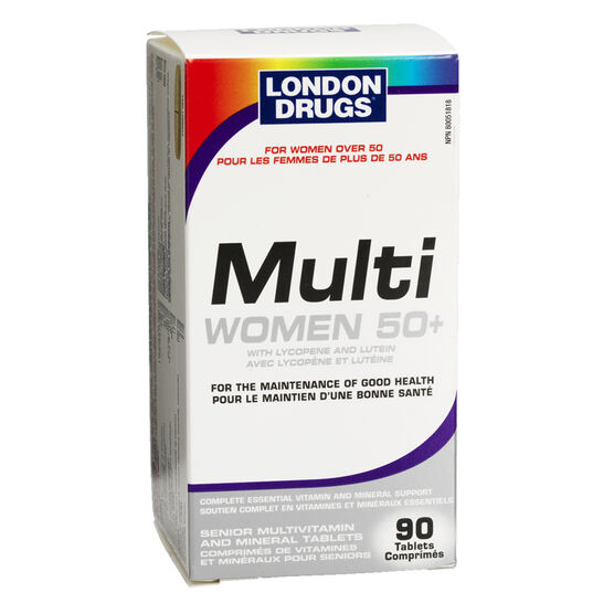 London Drugs Multi Women's 50+ Senior Multivitamins - 90's