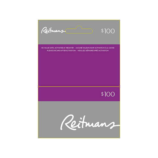 Reitmans Gift Card - $100