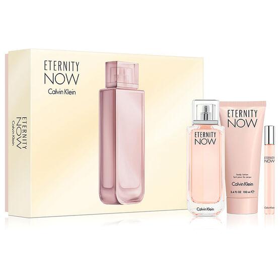 Calvin Klein Eternity Now for Women Gift Set - 3 piece