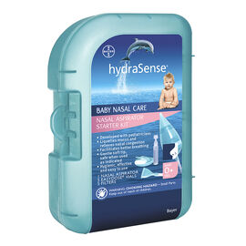 hydraSense Nasal Aspirator Starter Kit for Newborns & Infants