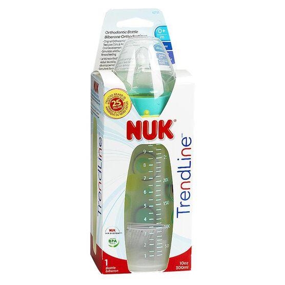 Nuk TrendLine Orthodontic Bottle - 10oz