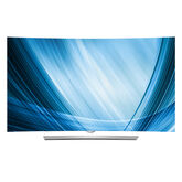 "LG 65"" Curved 4K UHD Smart 3D OLED TV - 65EG9600"