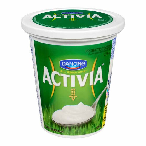 Danone Activia Yogurt - Plain - 650g