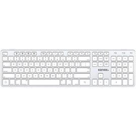 Kanex Multi-Sync Keyboard V2 - White/Silver - KA-QWERTYX-V2