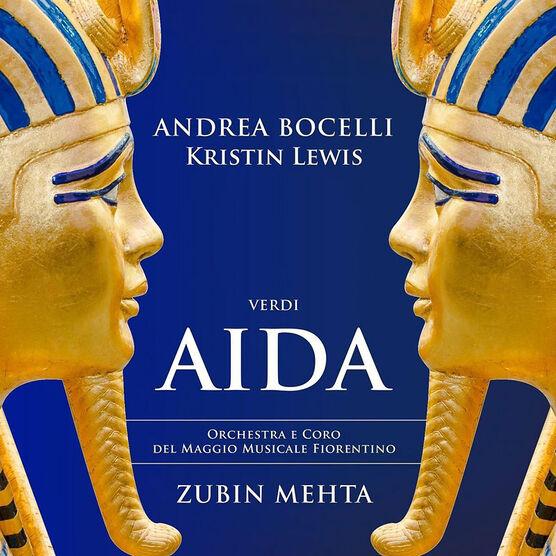 Andrea Bocelli and Kristin Lewis - Verdi: Aida - 2 CD