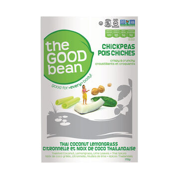 Good Bean Crispy & Crunchy Chickpea Mix - Thai Coconut Lemongrass  - 170g