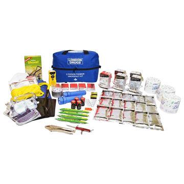 London Drugs Premium Home Emergency Kit - 5 person - EKIT1410.2