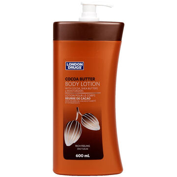 London Drugs Body Lotion - Cocoa Butter - 600ml