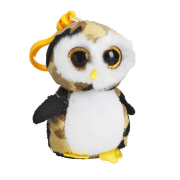 Ty Beanie Boos Clip - Owliver the Camouflage Owl