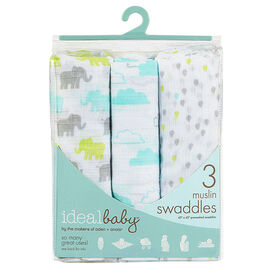 Ideal Baby Swaddles - 3 pack