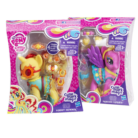 My Little Pony Cutie Mark Magic Fashion Style Pony - Assorted
