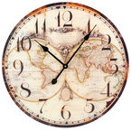 London Drugs Glass Wall Clock - Assorted