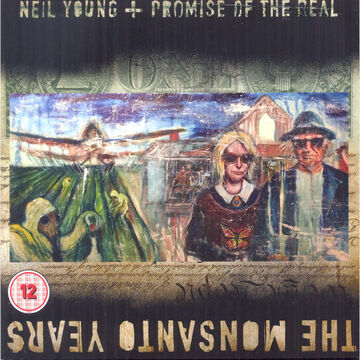 Neil Young + Promise Of The Real - The Monsanto Years - CD + DVD