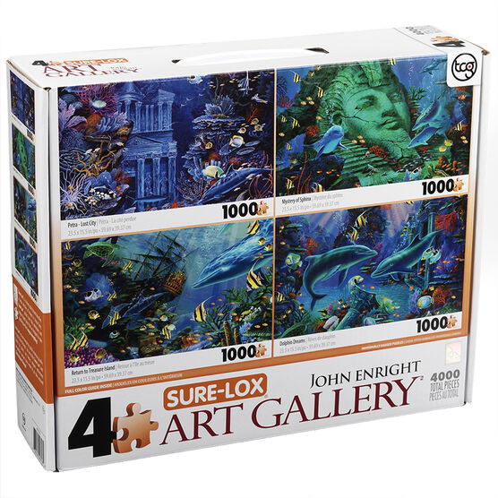 Sure-Lox 4 in 1 Puzzle - Assorted