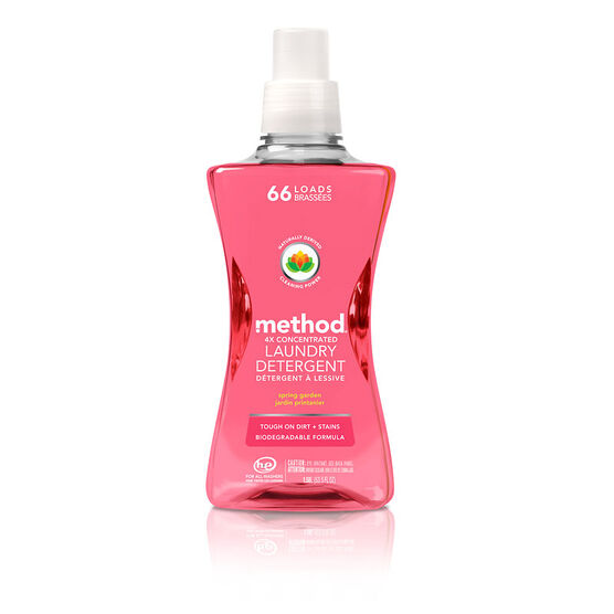Method 4X Concentrated Laundry Detergent - Spring Garden - 1.58L/66 load