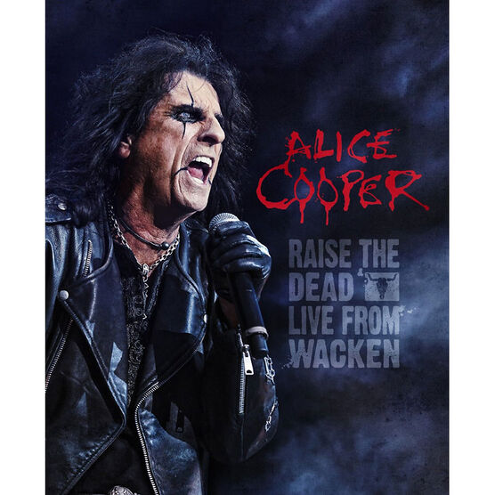 Alice Cooper - Raise the Dead: Live - Blu-ray + 2 CD
