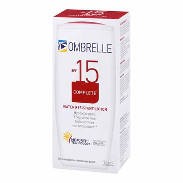 Ombrelle Complete Water Resistant Lotion SPF 15 - 120ml