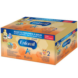Enfamil A+ 2 Ready To Feed Infant Formula - 18 x 237ml