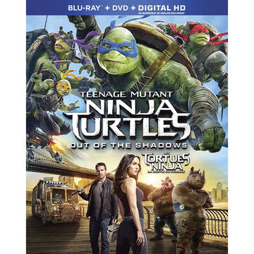 Teenage Mutant Ninja Turtles: Out Of The Shadows - Blu-ray