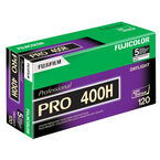 Fujicolor Pro 400H 120 Colour Film - 5 pack - 16326119