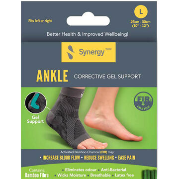 Synergy Ankle Corrective Gel Support - Large