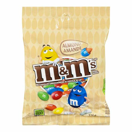 M&M's Almond - Peg Pack - 124g