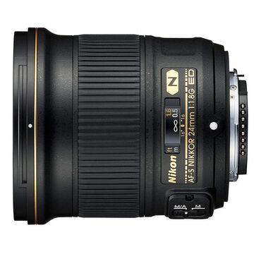 Nikon AFS FX 24mm F1.8G Lens - Black - 20057