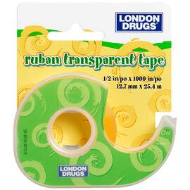 London Drugs Transparent Tape - 12mm x 25m
