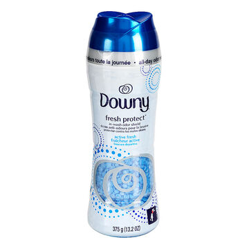 Downy Fresh Protect Odour Shield Beads - Active Fresh - 375g
