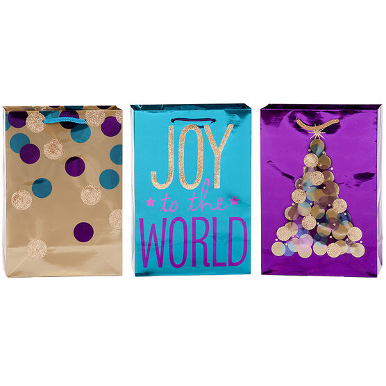 Plus Mark Glamour Gift Bag - Small Size - Assorted