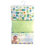 Honey Bunny Receiving Blanket - 3 pack - Assorted