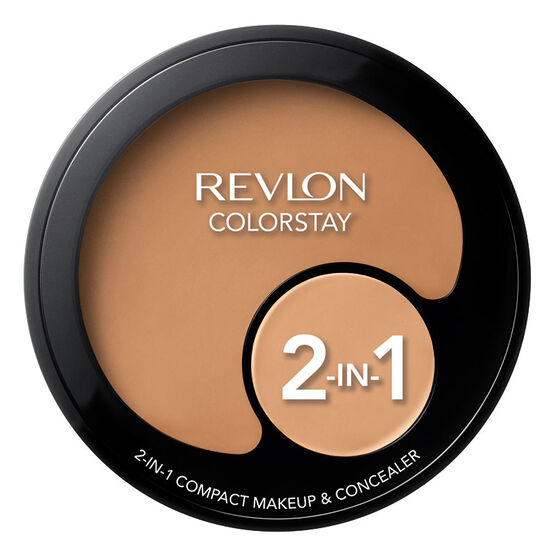 Revlon Colourstay 2-in-1 Compact Makeup & Concealer - Natural Tan