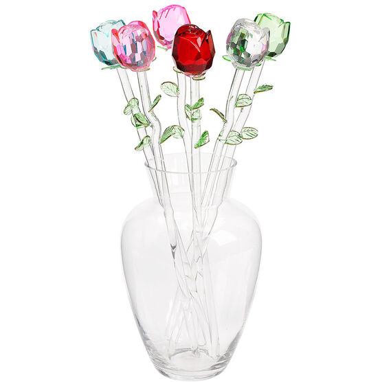 London Drugs Glass Rose Bouquet - Assorted Colours