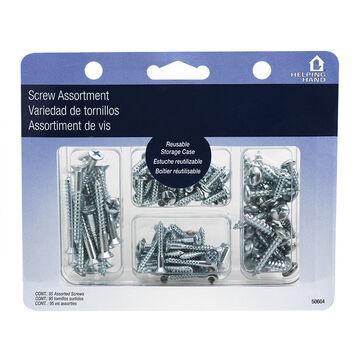 Helping Hand Screws Assorted Kit - 95 piece