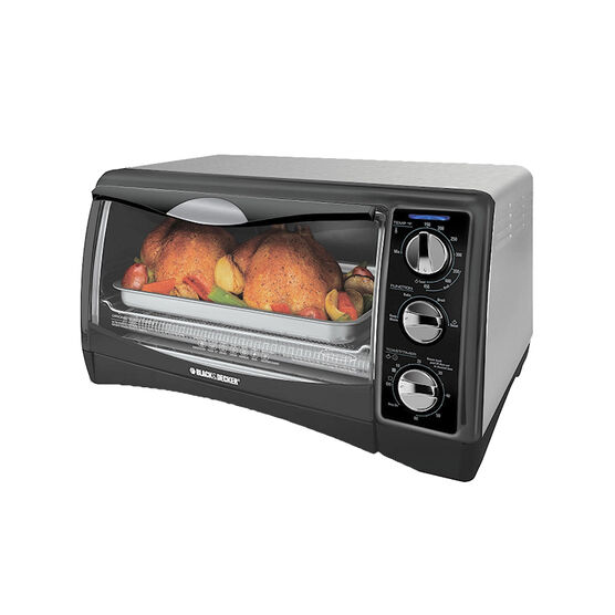 Black and Decker 6 Slice Convection Oven - TO1650SC