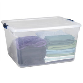 Rubbermaid Clever Store Basic Latch Box - 66.6L