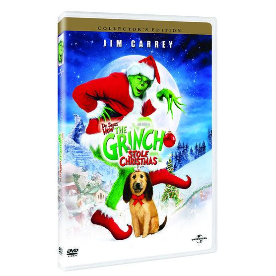 Dr. Seuss' How The Grinch Stole Christmas - DVD