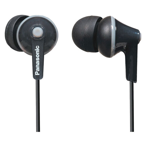 Panasonic Ergo Fit Ear Buds - Black - RPHJE125K