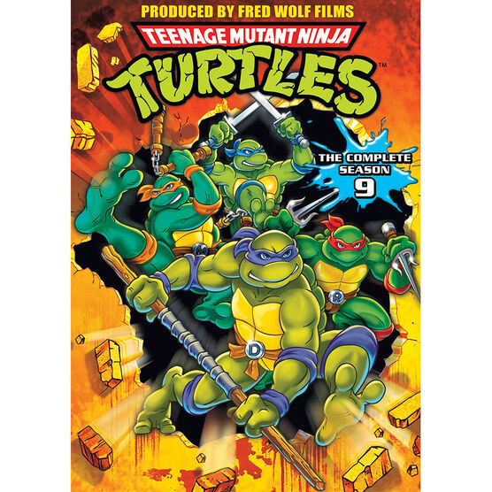Teenage Mutant Ninja Turtles: Season 9 - DVD