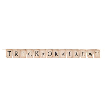 Halloween Trick or Treat Banner