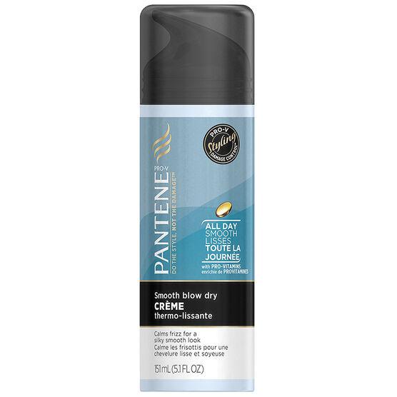 Pantene Pro-V Styling Smooth Blow Dry Creme - 151ml