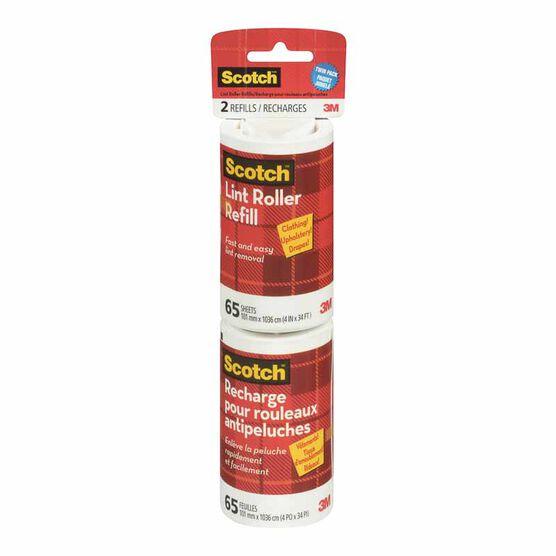 3M Scotch Lint Roller Refill - 2 pack