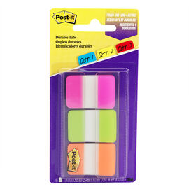 3M Post-it Durable Tabs - 3 pack