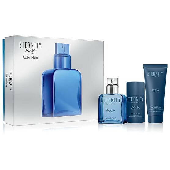 Calvin Klein Eternity Aqua for Him Gift Set - 3 piece